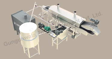 Continuous Potato Chips Production Line India